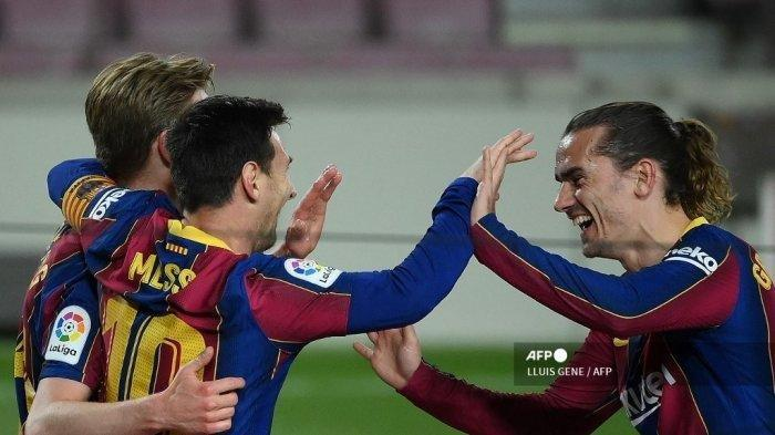 Terseok Ditinggal Lionel Messi, Barcelona Tak Tahan Lagi, Tuntut Antoine Griezmann Ciptakan Gol