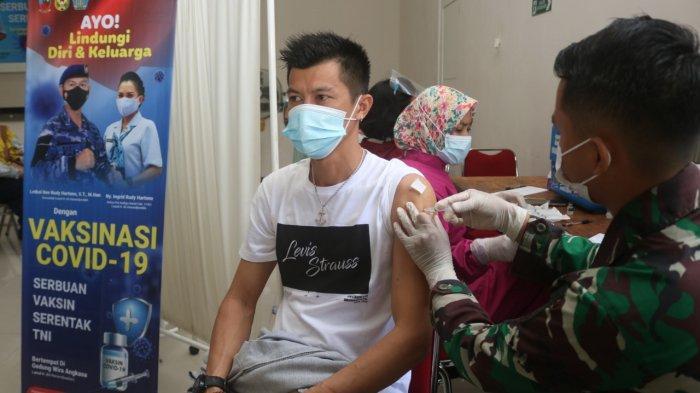 Lanud ASH Lanjutkan Vaksinasi Massal Gratis Tahap Dua