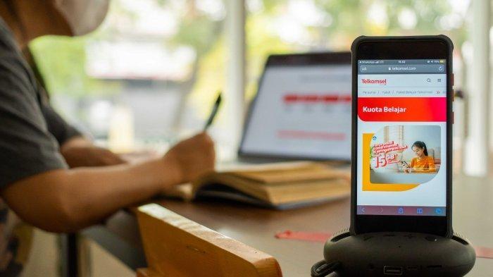 Telkomsel Segera Salurkan Bantuan Kuota Internet Pelajar Periode September-November 2021