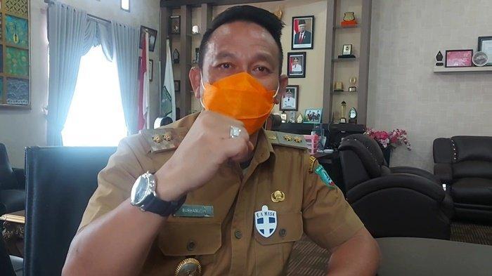 Waki Bupati Belitung Burhanudin.