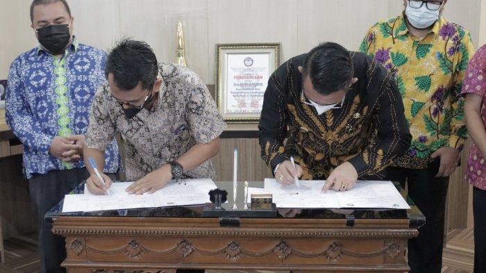 Ada Info Penting Soal Pilkades, KPU dan Pemkab Belitung Timur Teken MoU