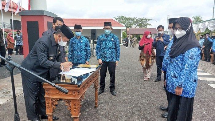 168 ASN di Belitung Timur Kena Mutasi, Burhanudin : Tanamkan Budaya Malu, Tidak Ada yang Dibuang