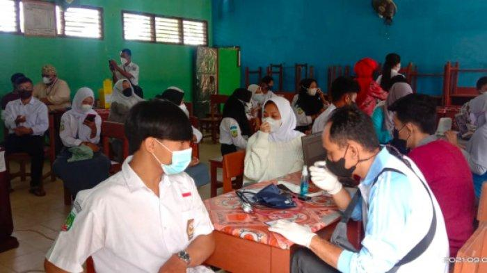 Hampir 10 Ribu Siswa di Belitung dan Belitung Timur Menunggu Giliran Vaksinasi Covid-19