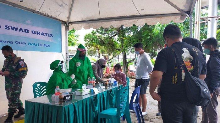 BREAKING NEWS Belasan Orang Diduga Gunakan PCR Palsu di Bandara HAS Hanandjoeddin Tanjungpandan