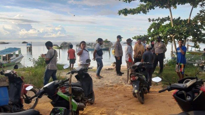 BREAKING NEWS, Lihat Benda Mengapung, Nelayan Tanjung Tinggi Ini Kaget, Ternyata Mayat Laki-laki