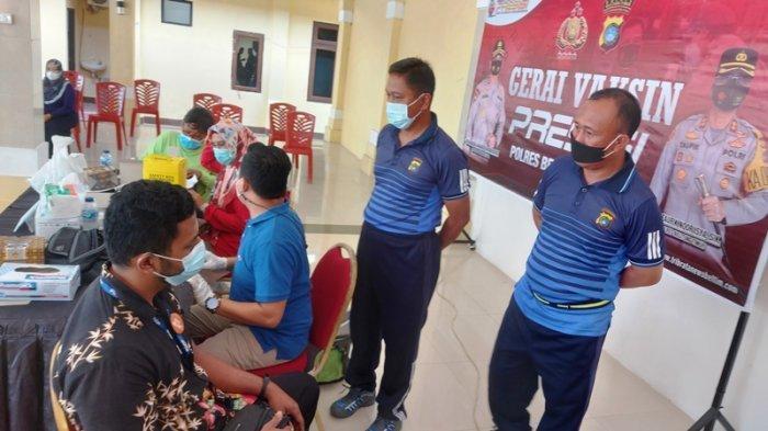 Stok Vaksin di Belitung Timur Cukup Penuhi Target Vaksinasi Harian Sepekan ke Depan