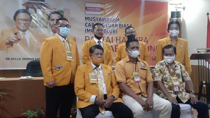 Muscablub DPC Hanura Kabupaten Belitung, Hendra Pramono Terpilih Secara Aklamasi