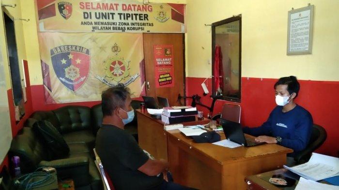 Tim Alap-alap Satreskrim Polres Belitung Amankan Residivis Empat Kali Kasus Pencurian