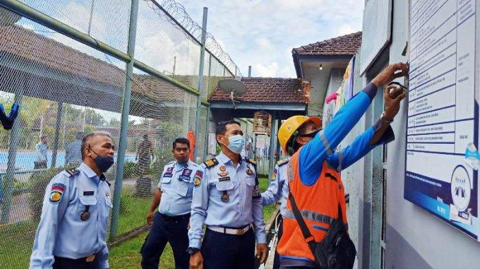 Antisipasi Kebakaran, Lapas Tanjungpandan Bersama PLN Periksa Kelayakan Jaringan Listrik