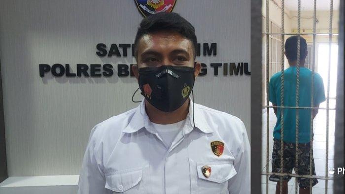 Kasat Reskrim Polres Beltim AKP Deddy Nuari saat ditemui di ruangannya, Selasa (14/9/2021).