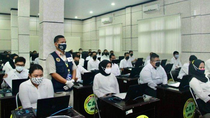 Peserta Seleksi CASN SKB di Belitung Sempat Terkendala Jaringan Saat Isi Jawaban