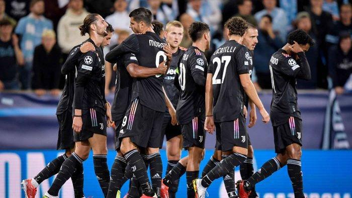 Juventus Akhiri Puasa Kemenangan, Pesta Gol di Kandang Malmo, Duet Dybala dan Morata Moncer