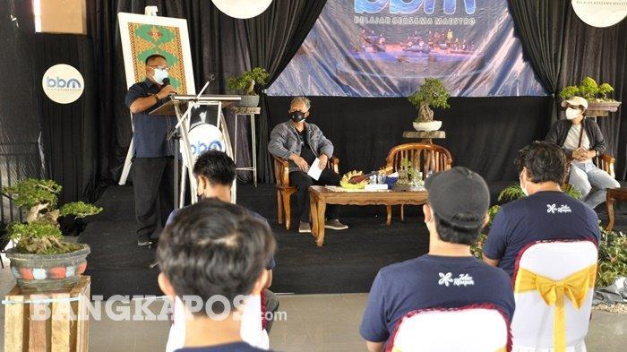Kemendikbudristek Gelar Program BBM untuk Seniman di Belitung Timur