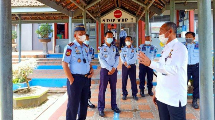 Kakanwil Kemenkumham Babel Sidak Lapas Tanjungpandan, Kalapas Sebut Hanya Punya 2 Alat Pemadam Api
