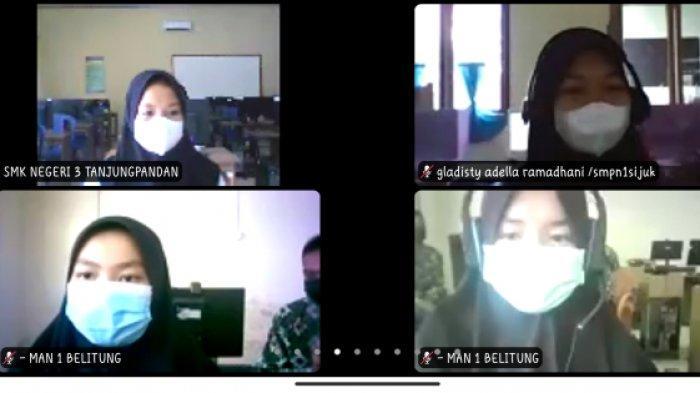 Cegah Pernikahan di Bawah Umur, DSPPPA Belitung Edukasi Pelajar Sekolah