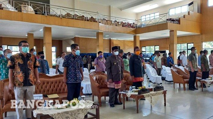 Sanem Hadiri Acara FGD I dan II, Bahas RDTR Kawasan Perkotaan Tanjungpandan