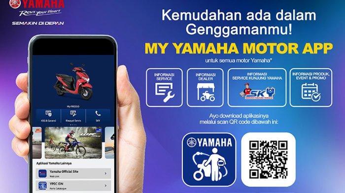 Pakai Aplikasi My Yamaha Motor Menguntungkan, Apa Kata Konsumen Yamaha