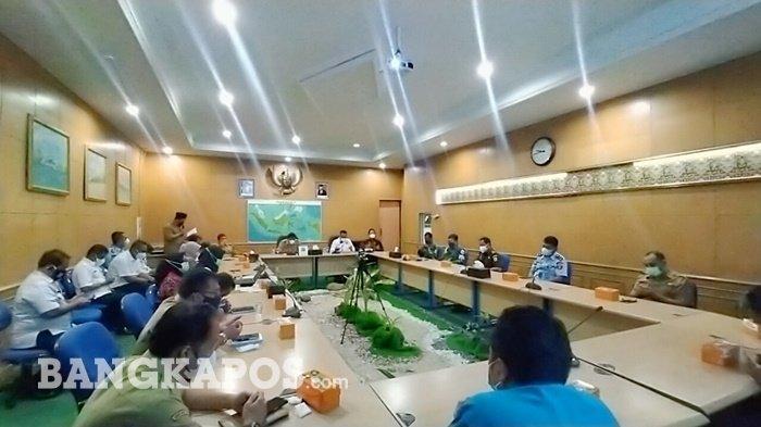 Kepala BNN Bangka Belitung Bertemu Pejabat di Belitung,Nostalgia dengan Bupati Belitung Sahani Saleh