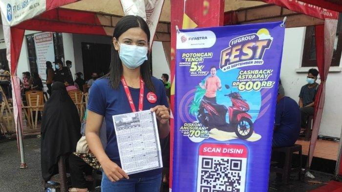 Honda ASP Belitung Support Kegiatan Vaksinasi di Gedung Nasional
