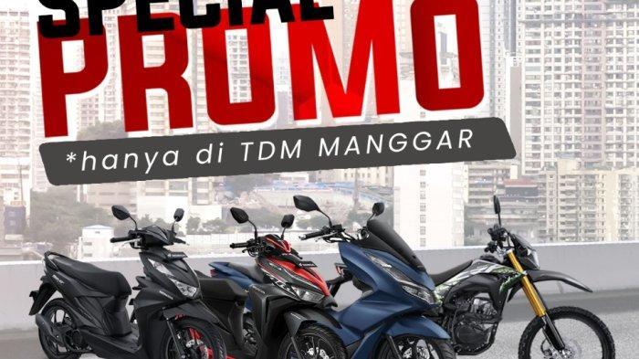 Spesial Promo Akhir Tahun Honda TDM Manggar, Ada Potongan Uang Muka Hingga Angsuran