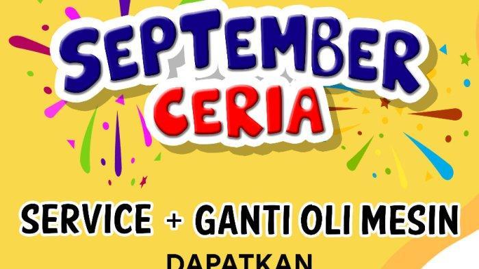 September Ceria, Promo AHASS NSS Manggar