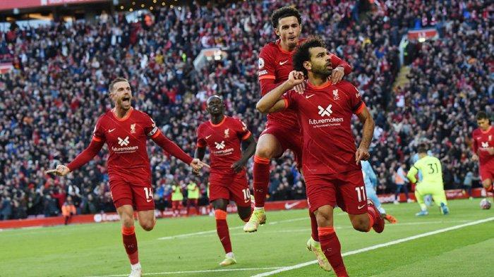 Big Match Liga Inggris Pekan Ketujuh, Liverpool Diimbangi Manchester City, Salah Cetak Gol Ciamik