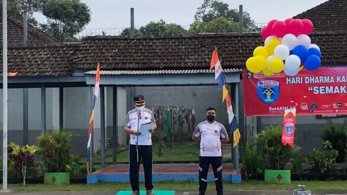 Meriahkan HDKD 2021, Lapas Tanjungpandan Gelar Pekan Olahraga dan Seni Narapidana