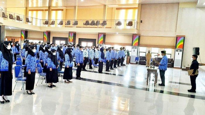 'Paksa' ASN Bekerja Maksimal Layani Masyarakat, Burhanudin Melantik 129 Pejabat Fungsional