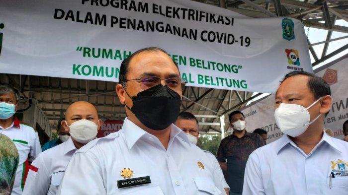 Gubernur Erzaldi Rosman: Masuk Jakarta Tetap PCR, Wabup Bangun Komunikasi Terkait SE Bupati Belitung