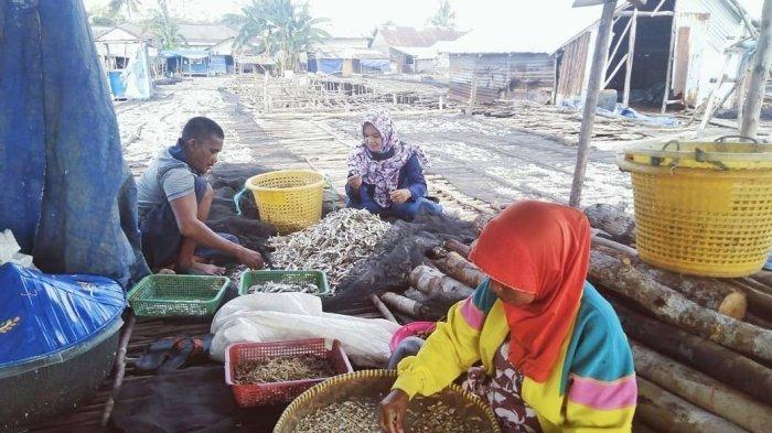 DPRD Babel Anggarkan Pembangunan Pondasi Tempat Penjemuran Ikan Tanjung Binga