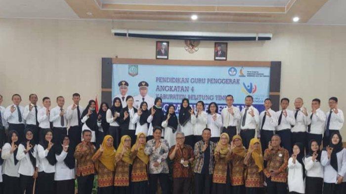 Lokakarya 0 Guru Penggerak Belitung Timur Resmi Dibuka, Diikuti 35 Guru SD-SMA