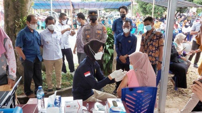 Wagub Fatah Apresiasi Capaian Vaksinasi di Belitung Timur, Bisa Percepat Pemulihan Ekonomi