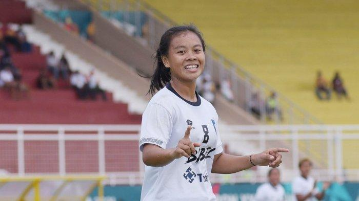 Sepak Bola Putri Bangka Belitung Sumbang Perunggu PON XX Papua, Dara Belitung Firanda Cetak Dua Goal