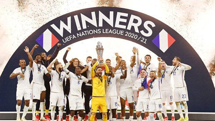 Perancis Rengkuh Trofi UEFA Nations League 2021, Berikut Fakta-fakta Laga Final Les Bleus vs Matador