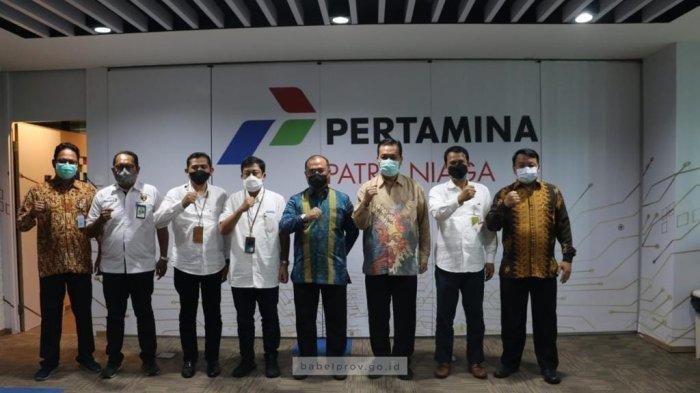 Selesaikan Antrean BBM, Gubernur Bangka Belitung Temui Dirut PT Pertamina