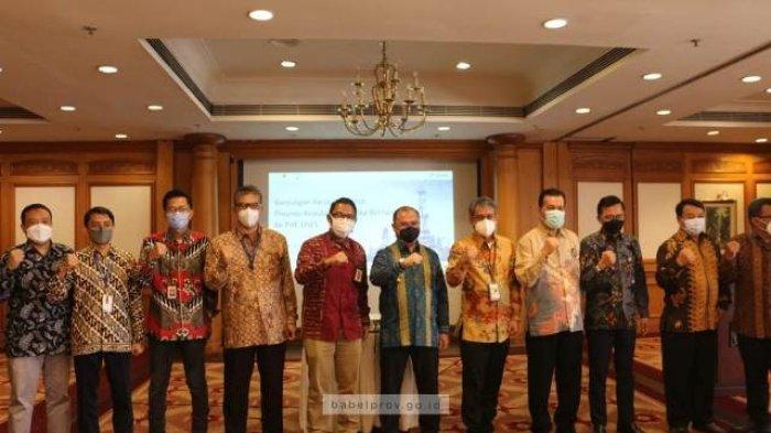 Gubernur Bangka Belitung Erzaldi Rosman Temui Pertamina Hulu Energi, Bicara Soal CSR Dukung Daerah