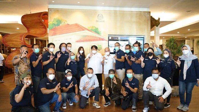 PT Timah Tbk Undang Molen ke Media Gathering Nasional, Promosikan Pangkalpinang dan Sepeda PGK