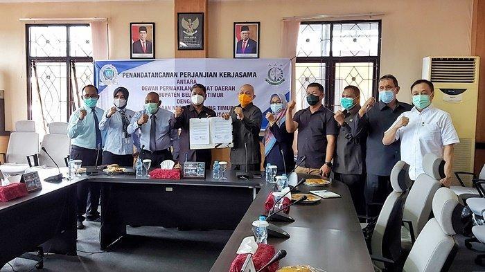 Lakukan Kerjasama, Jika Ada Gugatan, Kejari Belitung Timur Siap Berikan Bantuan Hukum untuk DPRD