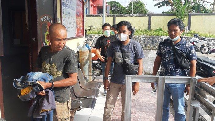 Curi Motor di Tempat Kondangan, Kakek 51 Tahun Digelandang Tim Opsnal Polres Belitung