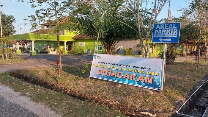 RSUD Belitung Timur Tiadakan Jam Besuk Demi Tekan Penyebaran Virus Corona