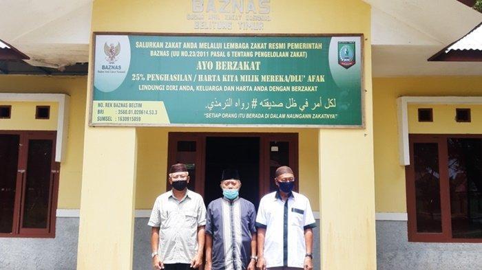 Baznas Belitung Timur Salurkan Bantuan Sebesar Rp 488,5 Juta Pada 2020