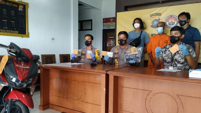 Curi Motor di Tempat Pesta Pernikahan, Pria Paruh Baya di Belitung Terancam Penjara Lima Tahun