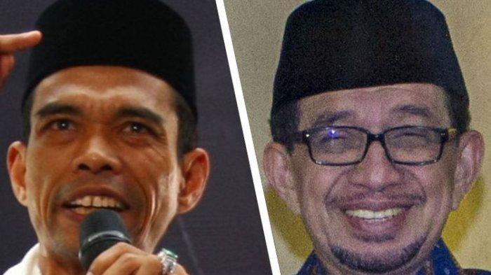 Digadang-gadang Jadi Cawapres Prabowo Begini Elektabilitas Ustad Abdul Somad dan Salim Segat