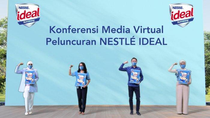 Cukupi Gizi Mikro dan Makro pada Anak, Nestle Luncurkan Produk Nestle Ideal
