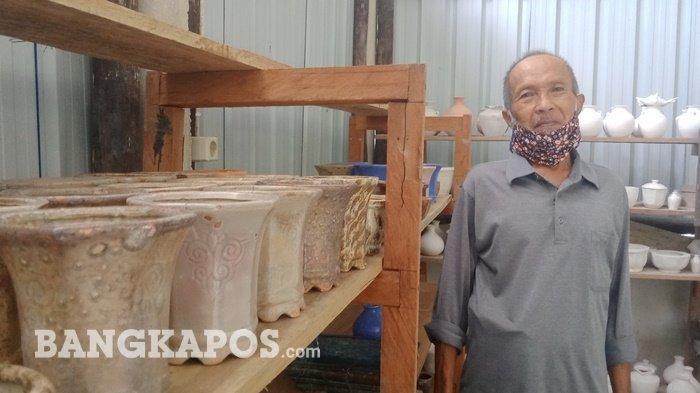 Kisah Dadang Pemilik Bengkel Keramik Ka'anggo, Berbisni di Tengah Pandemi Covid-19