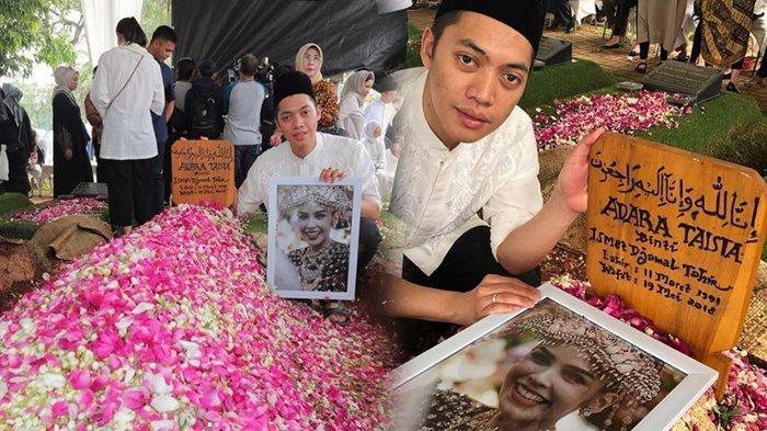 Momen Terakhir Rasyid Rajasa Tersenyum di Pusara Mendiang Istri: Semoga Kita Dipertemukan Lagi