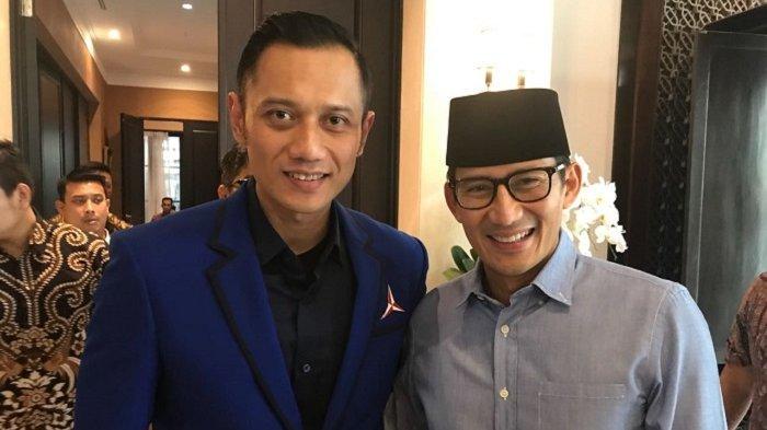Susunan Menteri Kabinet Kerja Jokowi Jilid II Beredar, Ada Nama Sandiaga Uno dan AHY