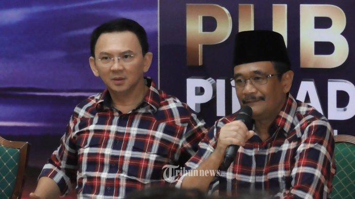 Ahok : Selamat untuk Pak Anies dan Pak Sandiaga Uno