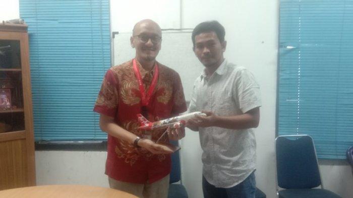 Rencana Buka Rute Penerbangan Baru Tanjungpandan-Kuala Lumpur, Pihak Air Asia Kunjungi Pos Belitung