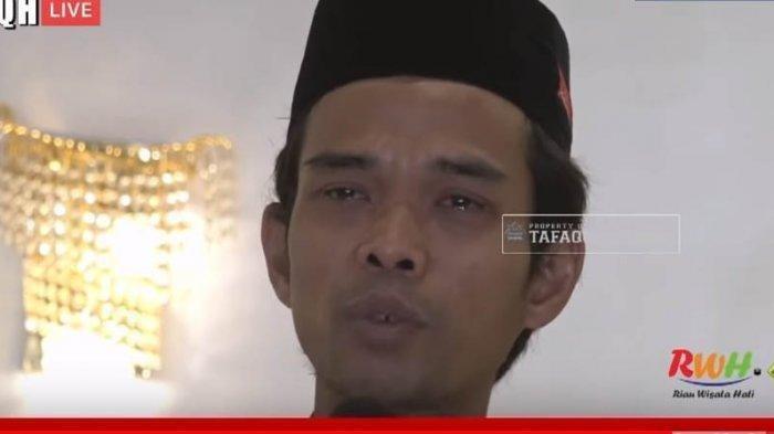 Ustaz Abdul Somad Minta Pamit Pulang Saat Gelar Tausiyah Saat Dengar Kabar Ibunya Meninggal Dunia